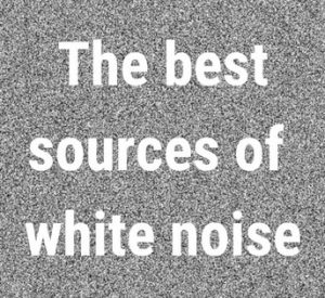 photo of static white noise