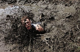 nightmare of being stuck in the mud