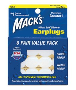 mack's pillow soft silicone earplugs