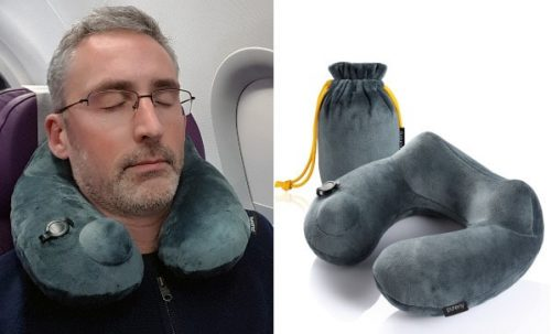 purefly travel pillow