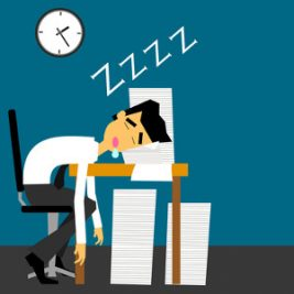 how a busy life affected my sleep