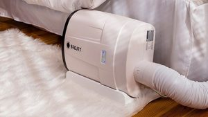 a bedjet system cooling a bed