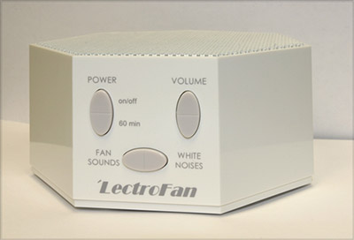 The Lectrofan White Noise Machine