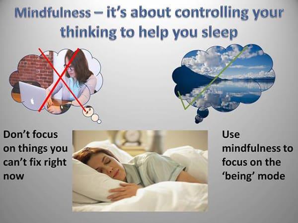 how mindfulness can help you sleep