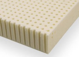 latex mattress topper example