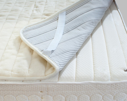 photo of a mattress pad