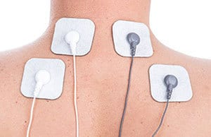 image of a tens machine being used