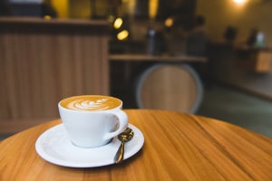image of a coffee cup on a table