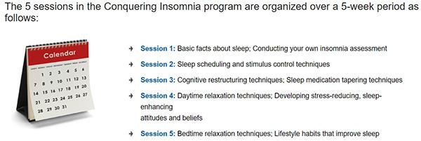 conquering insomnia