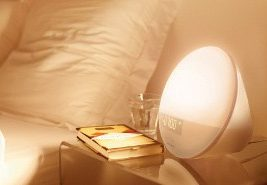 image of the philips wake up light