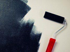 painting a bedroom wall