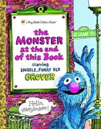 book cover of the monster at the end of this book