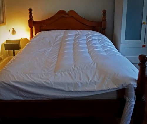 photo of the bedjet air comforter