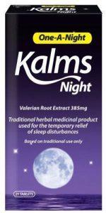 kalms one a night otc sleep aid