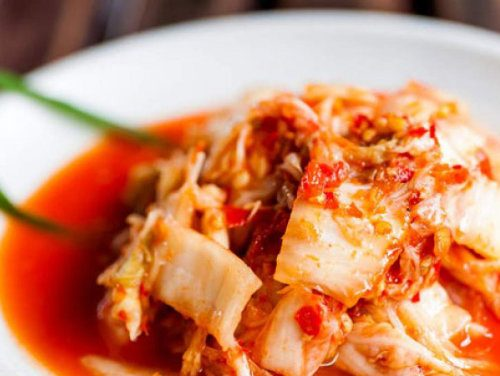 kimchi - a natural source of GABA