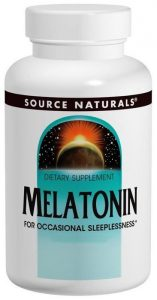 source naturals melatonin over the counter sleep aid