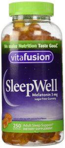 vitafusion sleepwell melatonin sleep aid