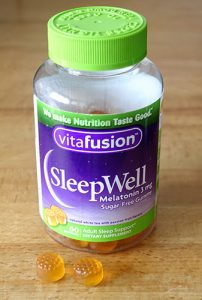 vitafusion melatonin sleep aid