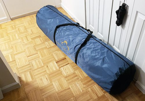 dreamcloud mattress delivery tube