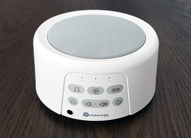 Dreamegg Portable White Noise Machine Review