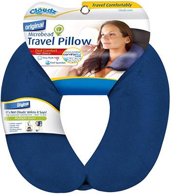 cloudz microbead travel pillow