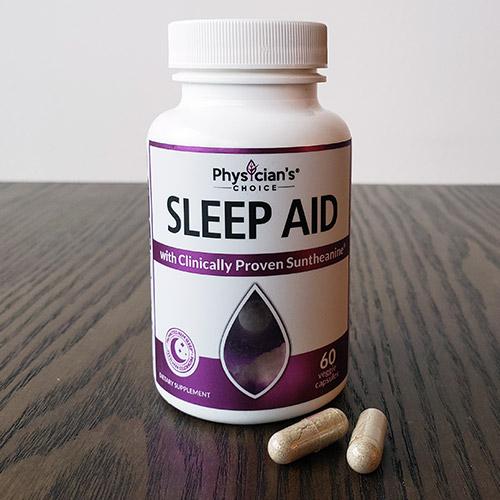 photo of the physician's choice sleep aid