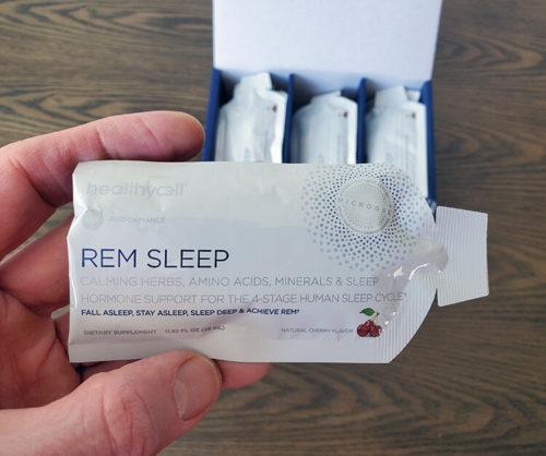 gel pack of healthycell sleep aid