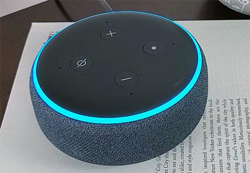 echo dot 3rd generation smart speaker